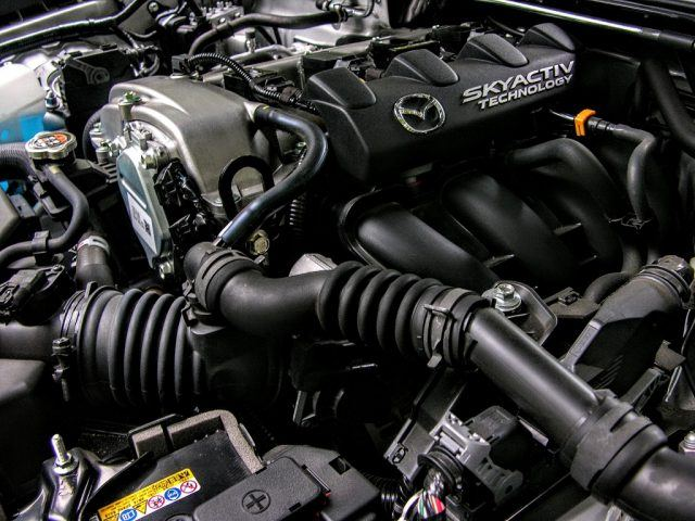 SkyActiv 2.0-liter engine | Micah Wright/Autos Cheat Sheet