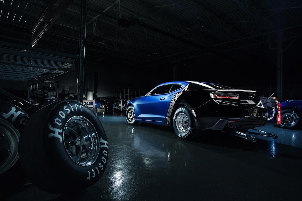 The 2017 Chevrolet COPO Camaro -- a factory-built drag car