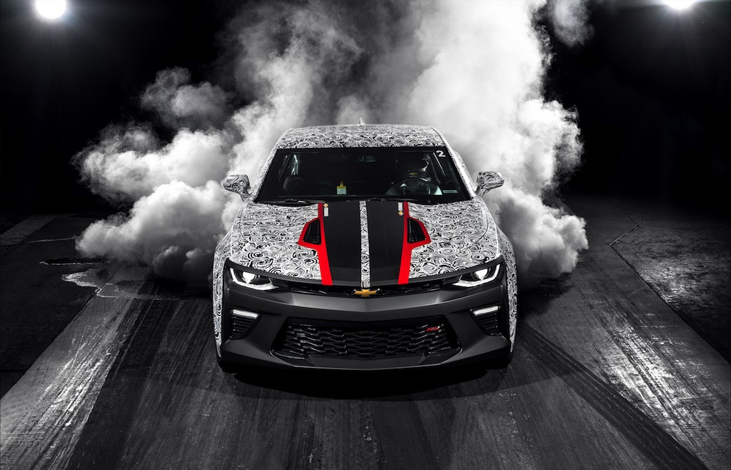 2017 Camaro SS drag car | Chevrolet