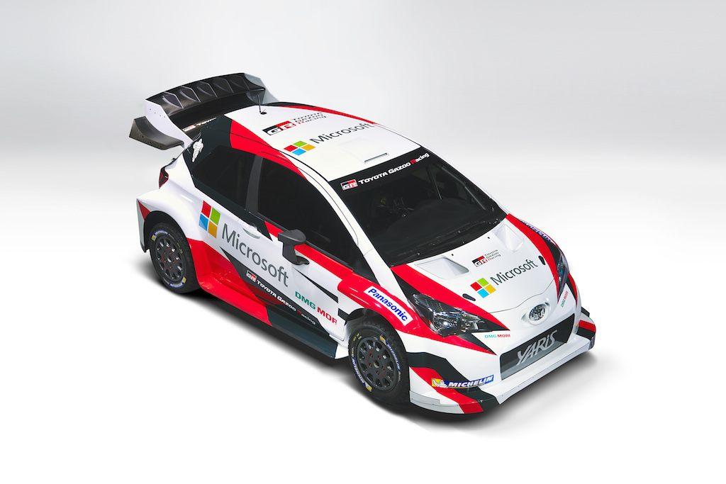 2017 Toyota Yaris WRC car