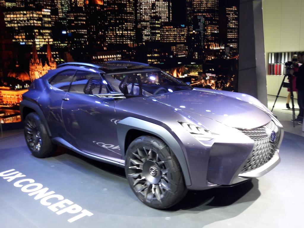 The Lexus UX Concept