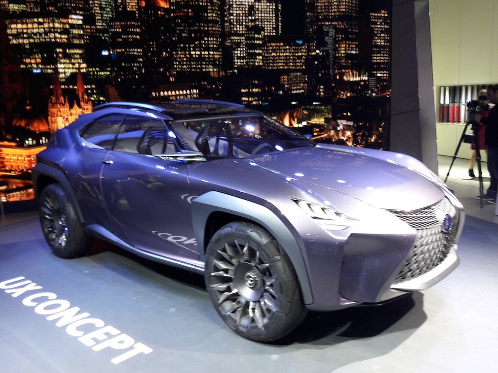 The Lexus UX Concept