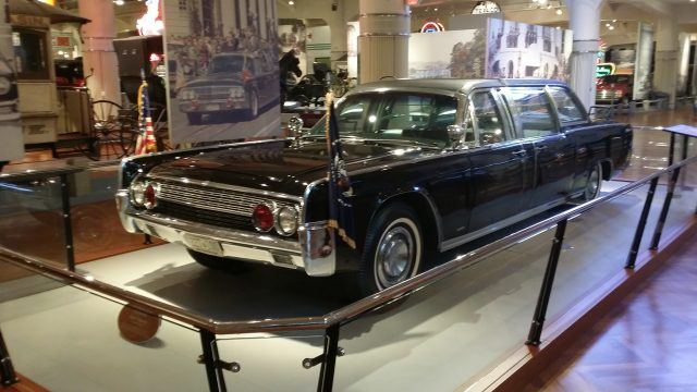 1961 Lincoln Limousine that carried JFK