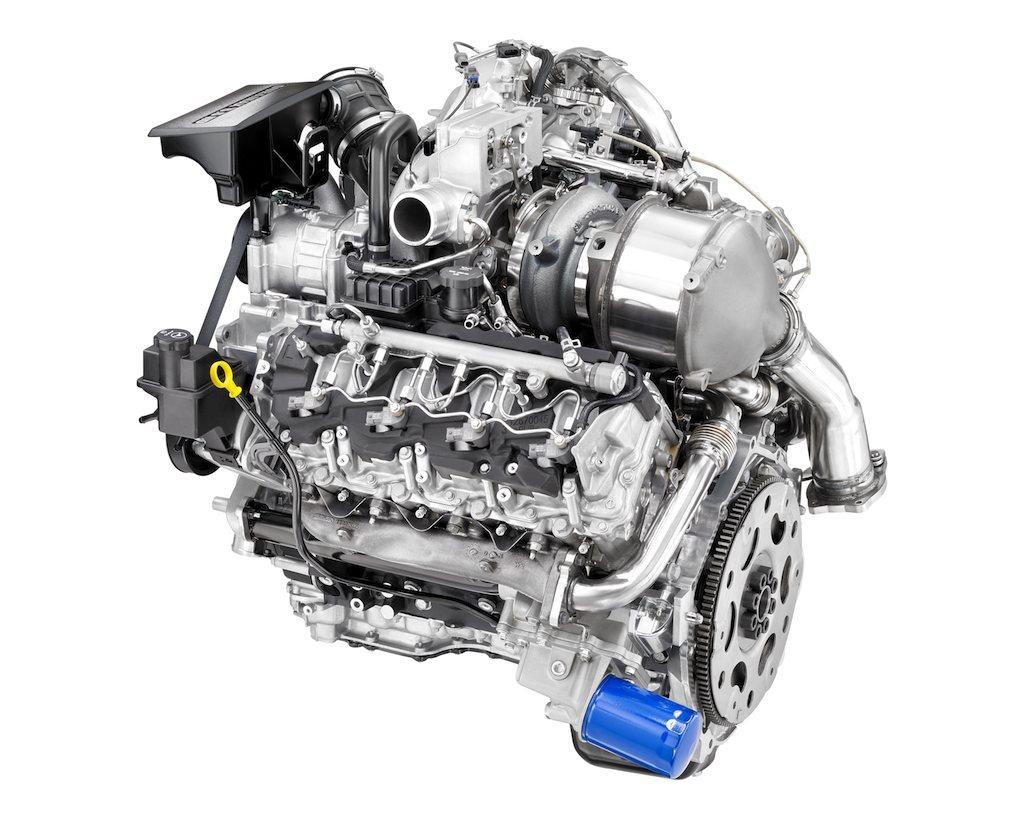 2017 General Motors Duramax 6.6L turbo diesel   General Motors