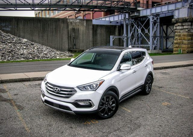 The Santa Fe Sport is an outstanding CUV offering from Hyundai