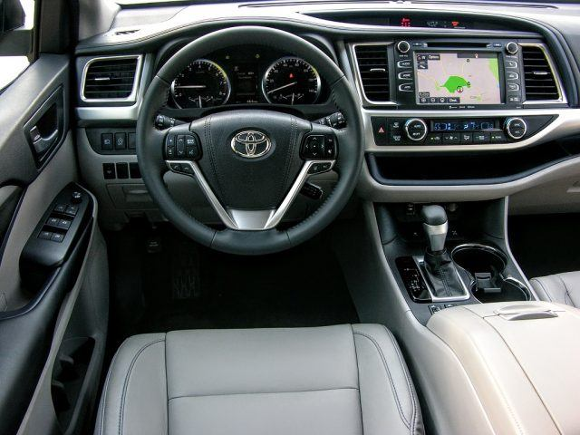 Leather seats and touchscreen