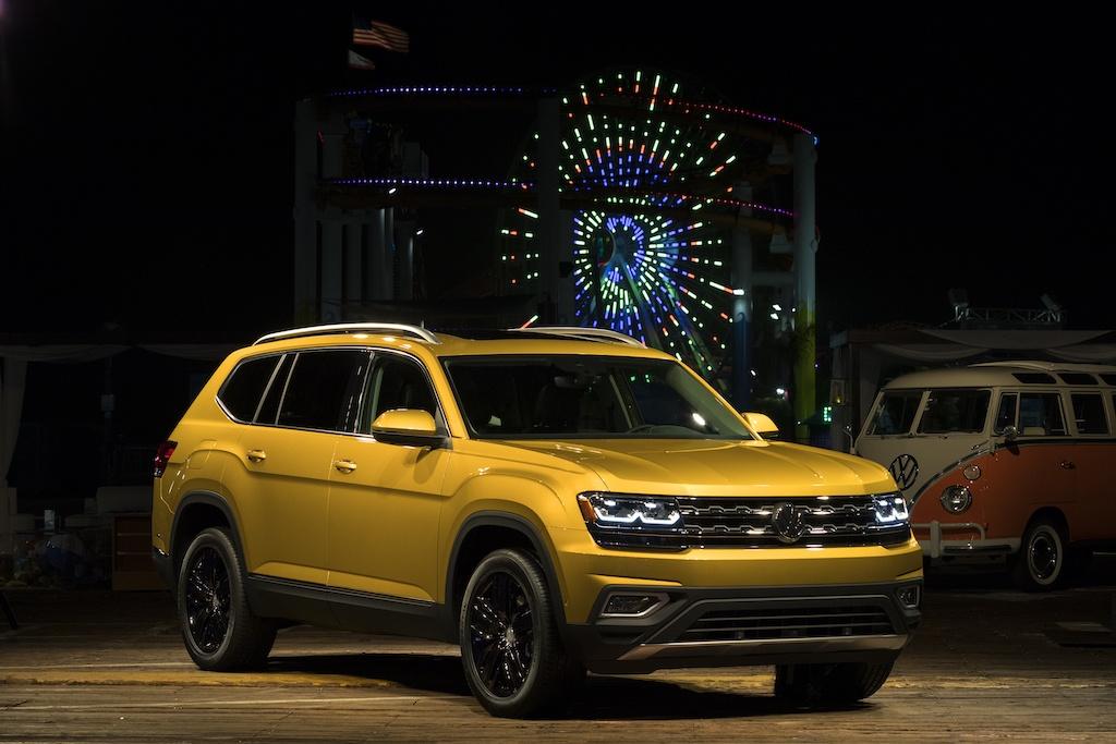 2018 Volkswagen Atlas in Santa Monica, Calif.