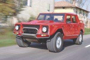 Lamborghini LM002: The Weird History of the Rambo Lambo