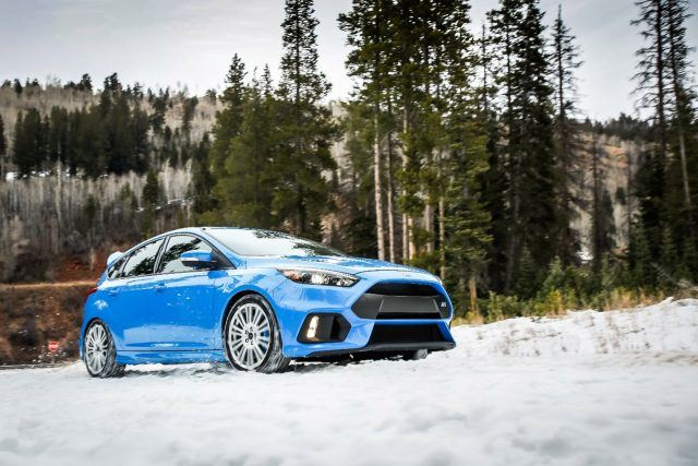 Ford Focus RS winter wheels and tires | Ford