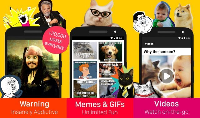9GAG - funny apps for Android and iOS