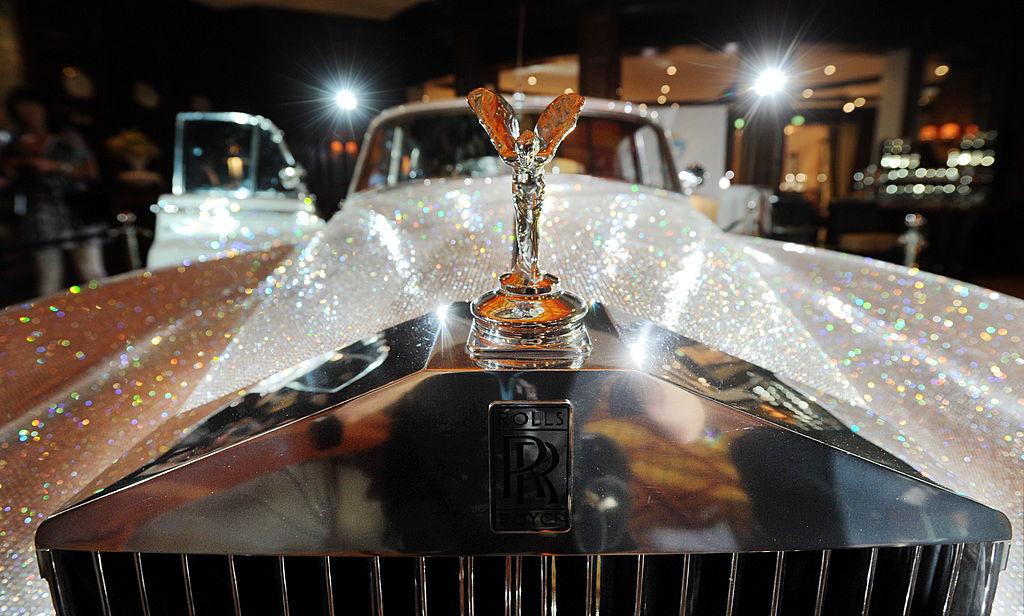 A Rolls Royce Silver Cloud from 1962
