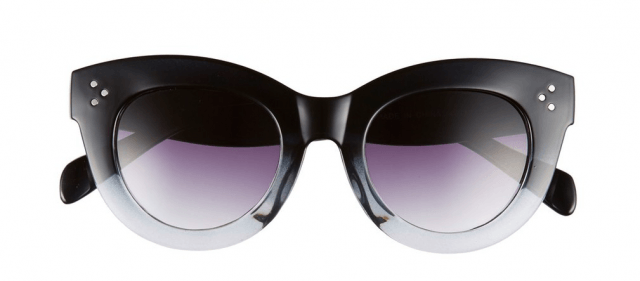 A.J. Morgan gradient sunglasses