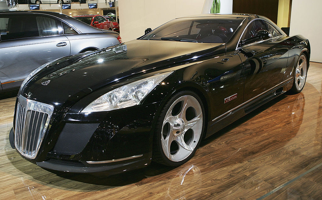 The Maybach Exelero is locally launched at the Australian International Motorshow