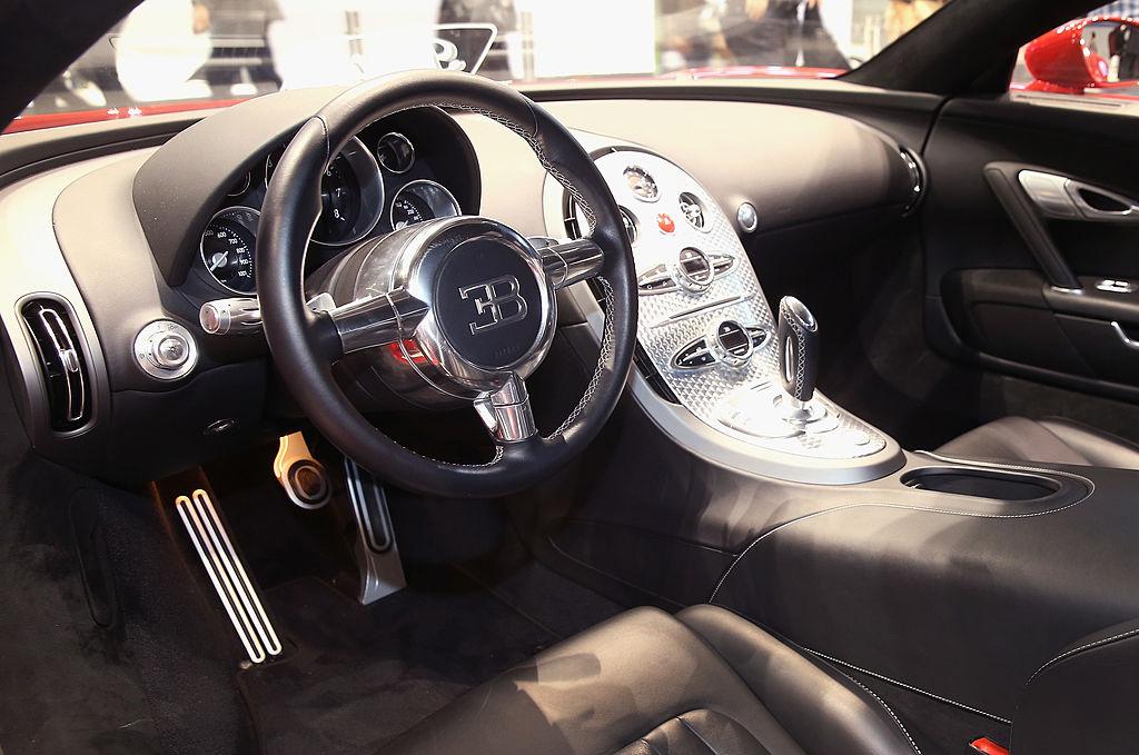 Bugatti displays their $1.5 million Veyron