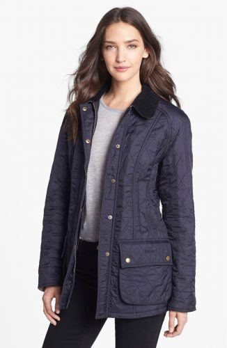 Barbour Beadnell puffer coat