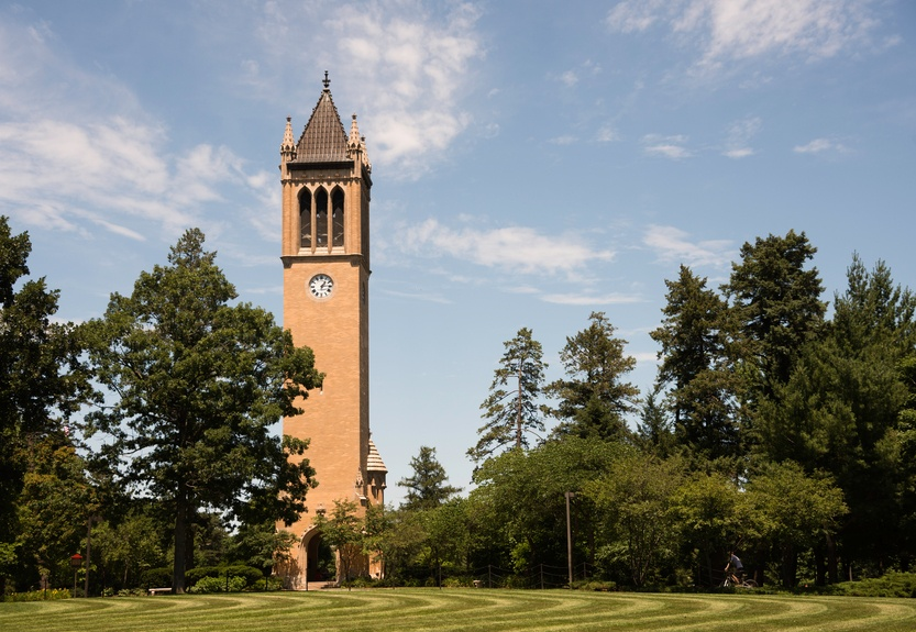 Bell Tower at Iowa State University in Ames