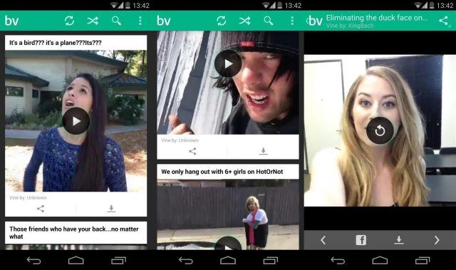 Best Vines - funny apps for Android and iOS