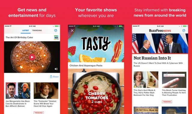 BuzzFeed - funny apps for Android and iOS