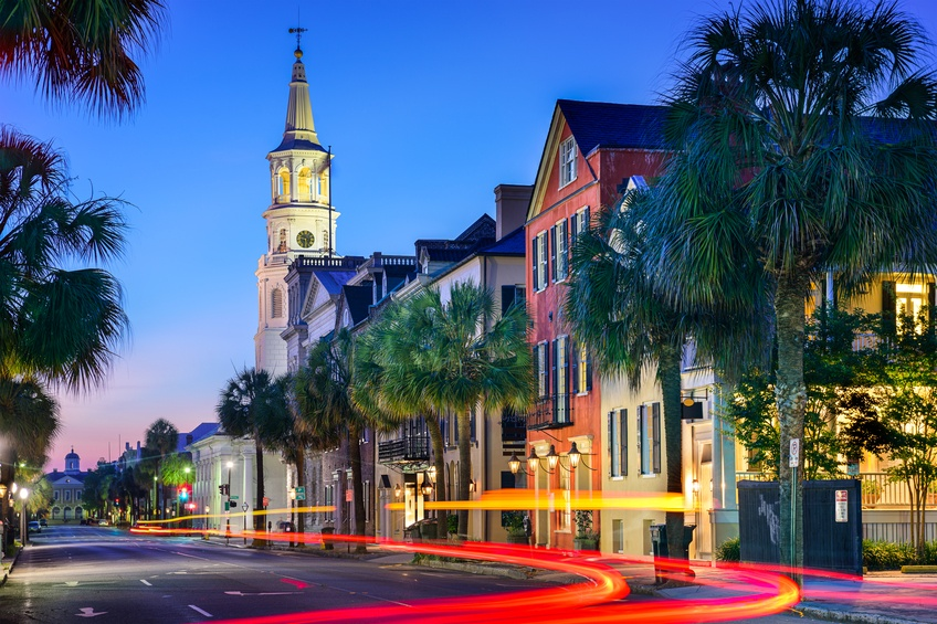 Charleston, South Carolina, cityscape