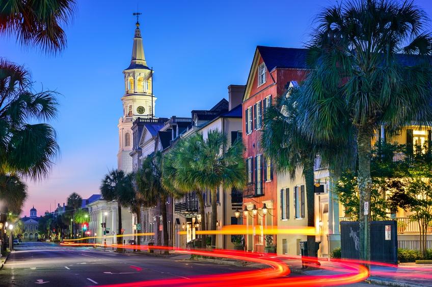Charleston, South Carolina, USA cityscape