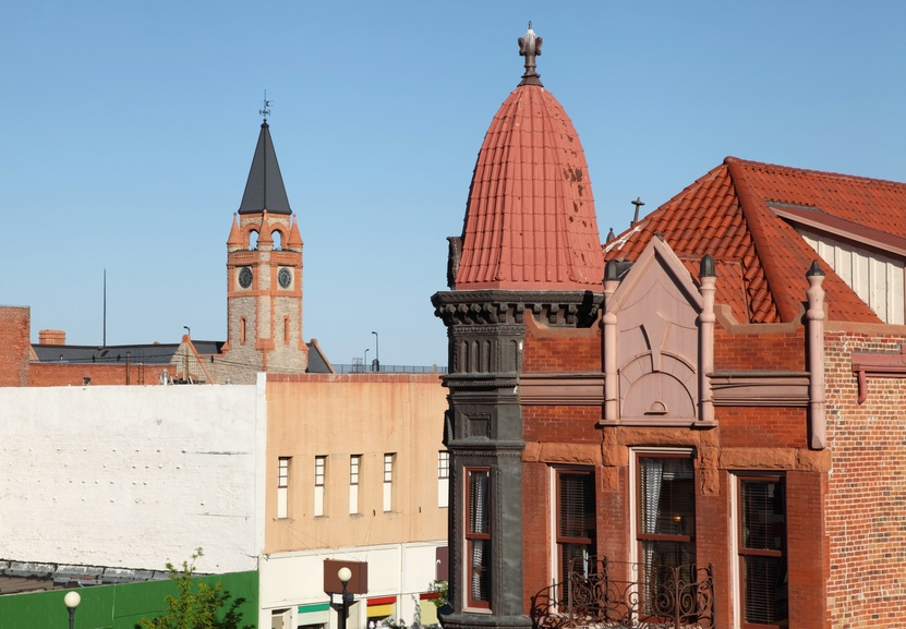 Downtown Cheyenne, Wyoming