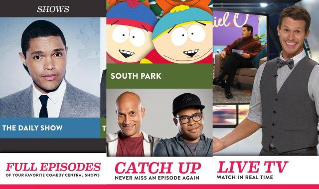 Comedy Central - funny apps for Android and iOS