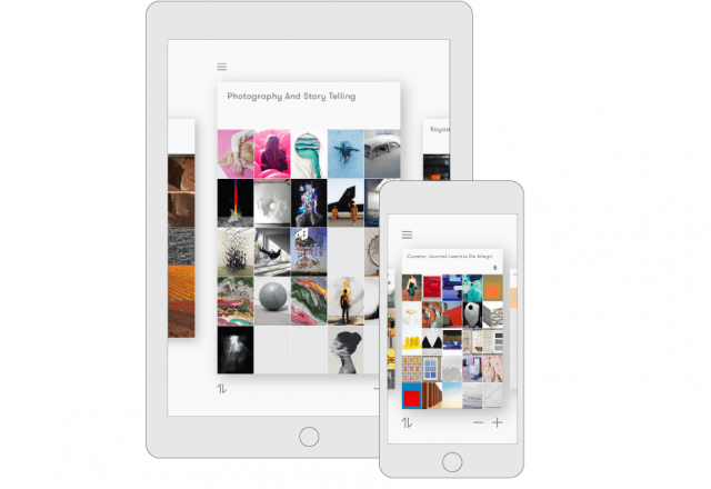 Curator for iPad and iPhone