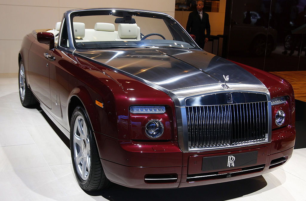 The 2008 Rolls-Royce Phantom Drophead convertible