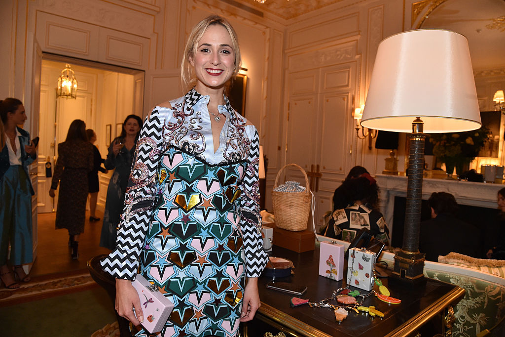 "Elisabeth von Thurn und Taxis attends the Edie Parker SS'17 Collection 'Vices and Virtues"" Diner"