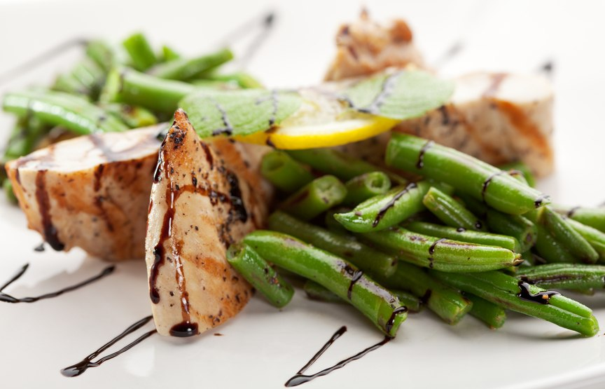 Chicken with String Beans