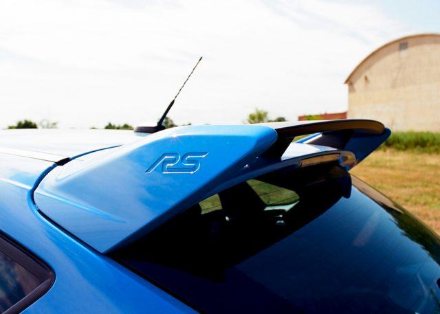 Focus RS rear wing | James Derek Sapienza/Autos Cheat Sheet