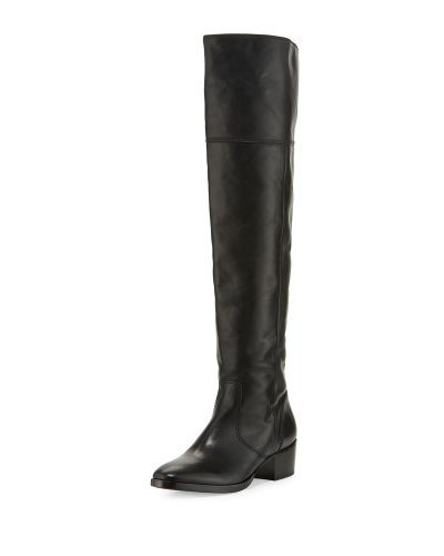44c05a37a7af 8 Leather Boots That Will Make Your Legs Look Amazing