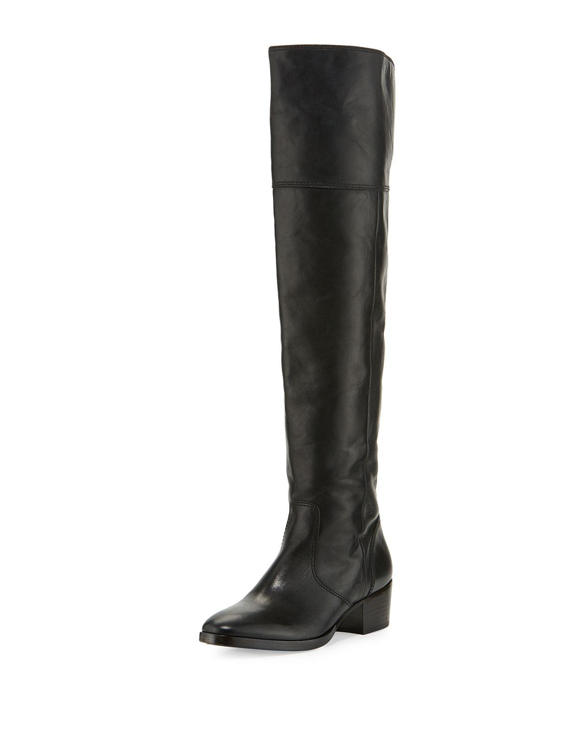 Frye Clara Leather Over-the-Knee Boot