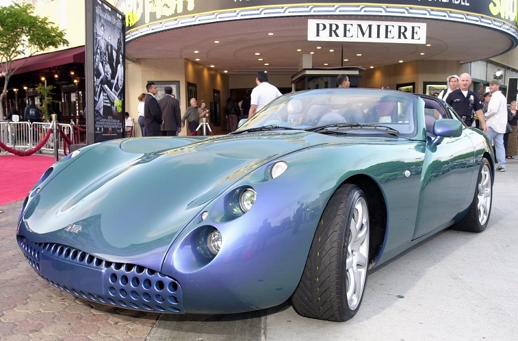 "TVR Tuscan that appeared in ""Swordfish"""