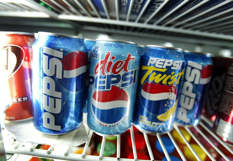 Pepsi cans