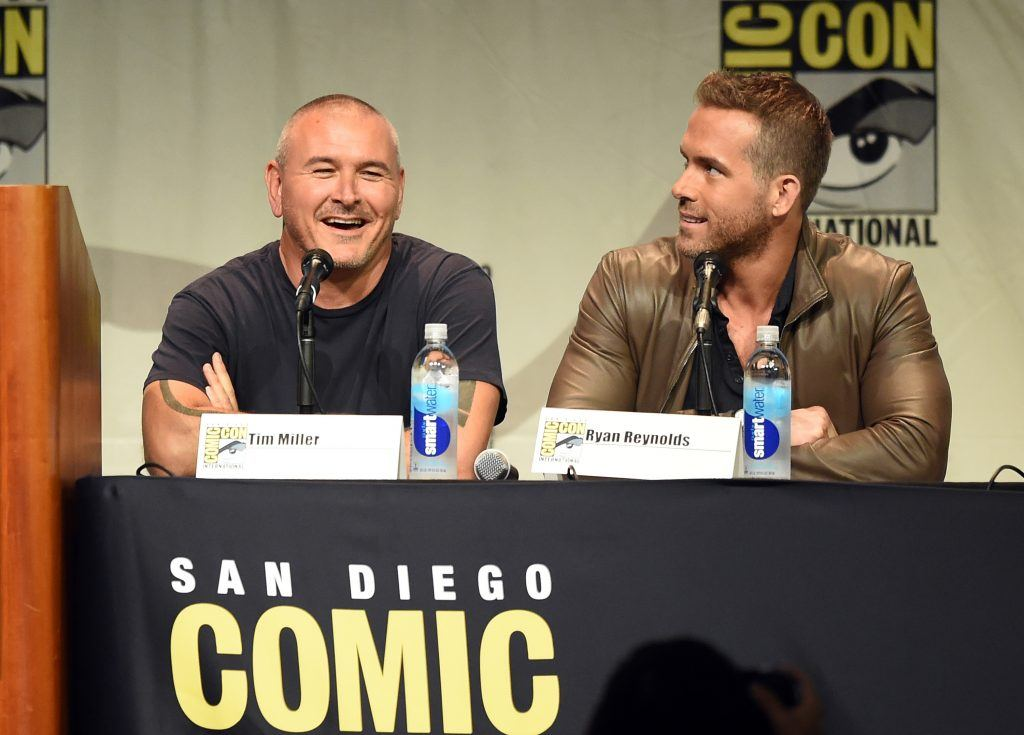 Director Tim Miller and actor Ryan Reynolds   Kevin Winter/Getty Images