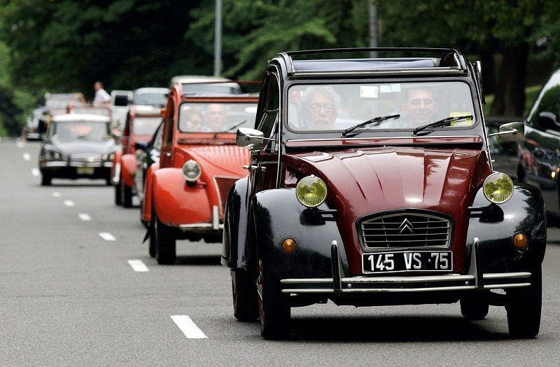 1985 Citroen 2CV Dolly is one of the vehicles banned in America
