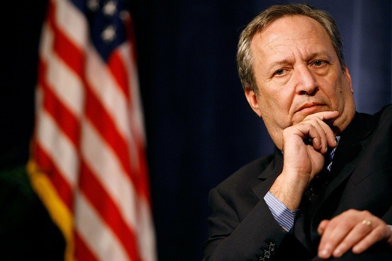 Larry Summers, former Treasury Secretary and Director of President Barack Obama's National Economic Council, does a good Dr. Evil impression