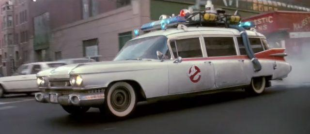 Ghostbusters Ecto 1 hearse