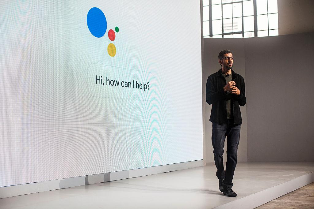 Pichai Sundararajan, known as Sundar Pichai, CEO of Google Inc