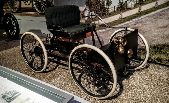 1896 Ford Quadricycle runabout