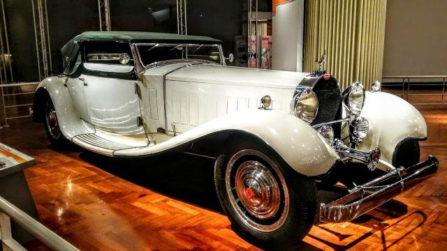 A 1931 Bugatti Type 41 Royale in all of its rarified glory