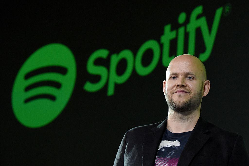 Daniel Ek, CEO of Swedish music streaming service Spotify