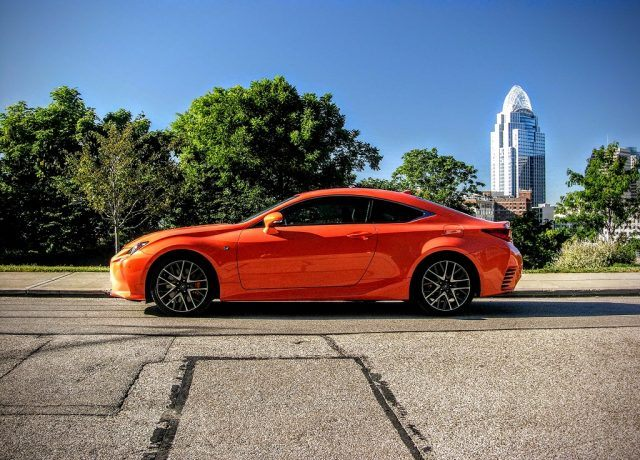 2016 Lexus Rc200t Review The Statement Making Commuter S Coupe