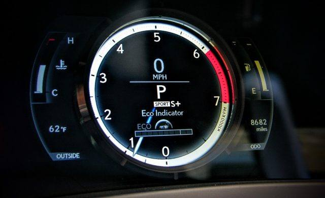 Fuel efficiency gauge | Micah Wright