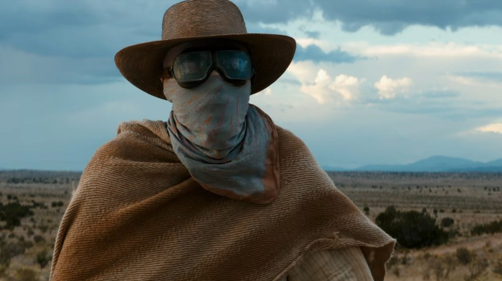 Stephen Merchant as Caliban in Logan