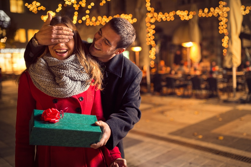 romantic surprise for Christmas