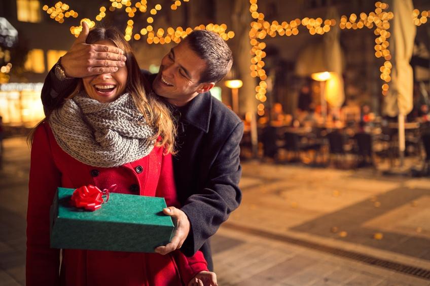 romantic surprise for Christmas