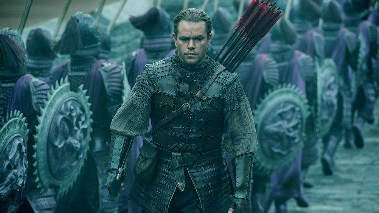 Matt Damon in The Great Wall