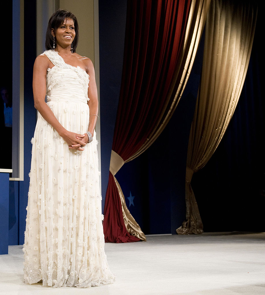 First Lady Michelle Obama during the Midatlantic Regional Inaugural Ball